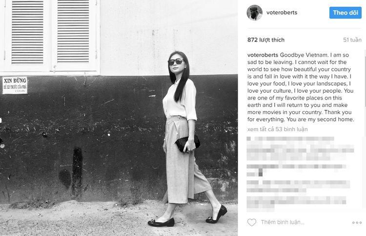 ViệcJordan Vogt-Roberts liên tục đăng tải hình ảnh của Ngô Thanh Vân làm dấy lên tin đồn hẹn hò.