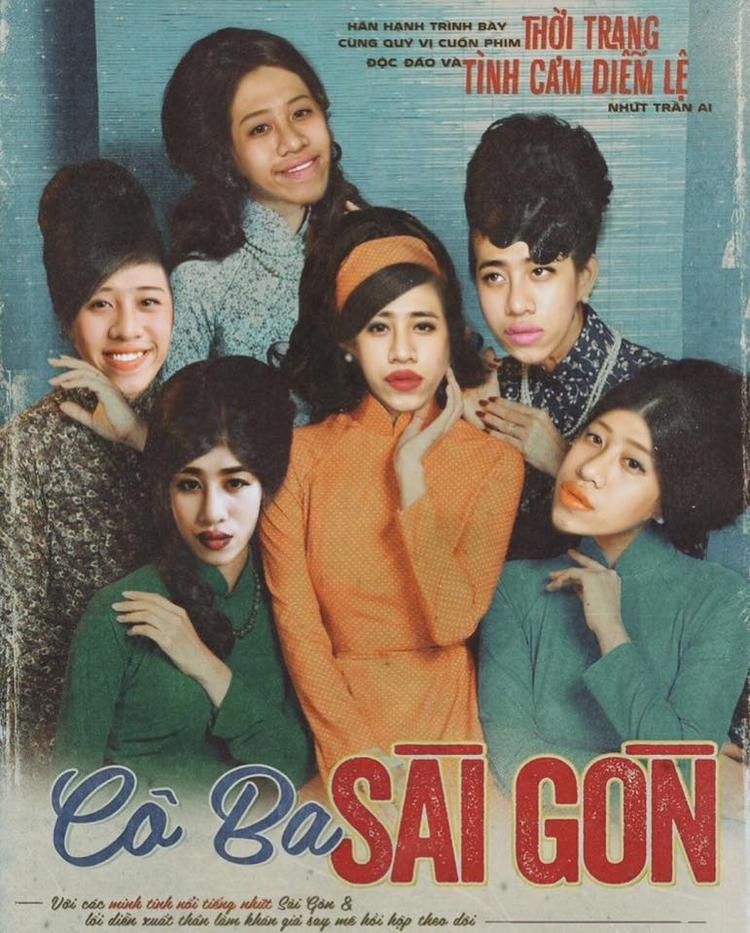 Vừa ra mắt poster, Cô Ba Sài Gòn đã trở thành tâm điểm chế ảnh của cư dân mạng