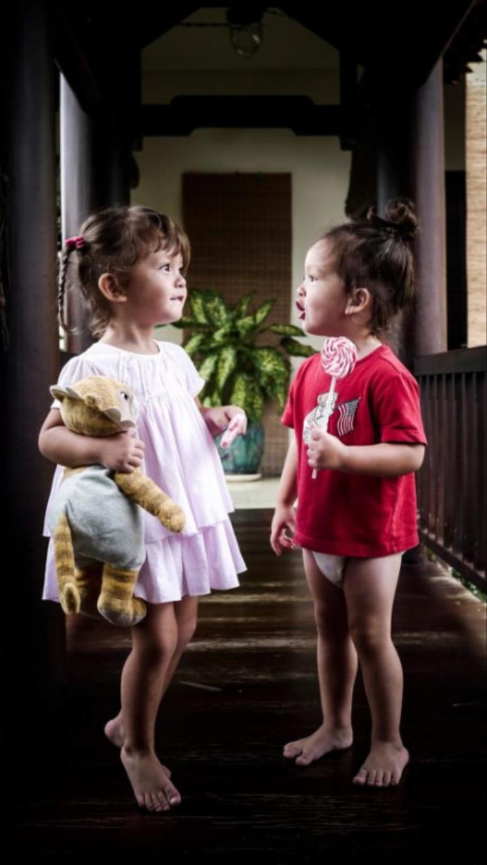 Hai bé Tôm - Tép nhanh chóng thu hút nhiều sự quan tâm của mọi người.
