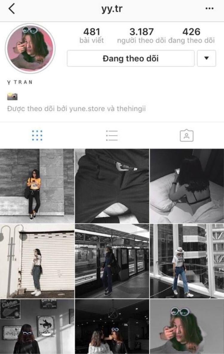 Nếu vô tình lạc vào trang instagram của cô gái này ai cũng sẽ dành nhiều phút để ngắm những bức hình chất, nghệ.