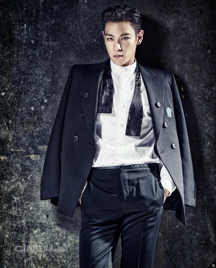 T.O.P lịch lãm trong bộ hình quảng cáo quần áo.