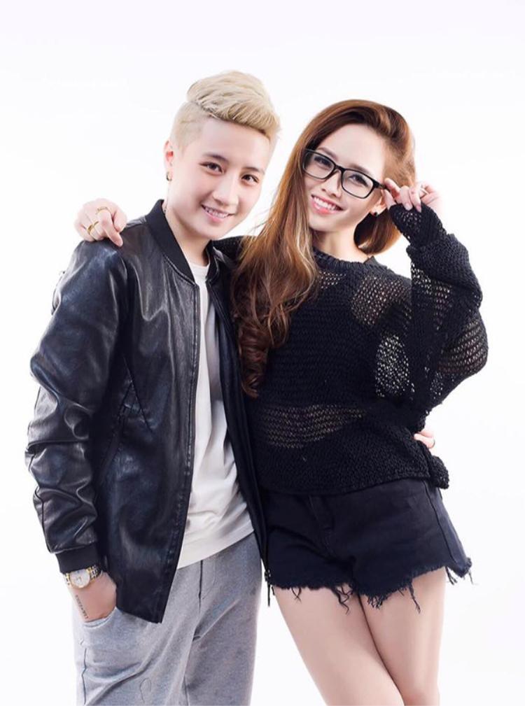 MC Ngọc Trang và người yêu đồng giới Linh Jay.