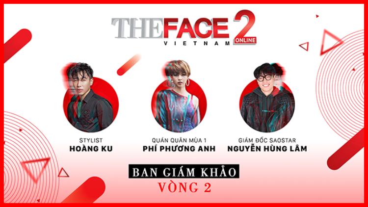 Phí Phương Anh, stylist Hoàng Ku sẽ trực tiếp đánh giá Top 10 The Face Online tại vòng 2