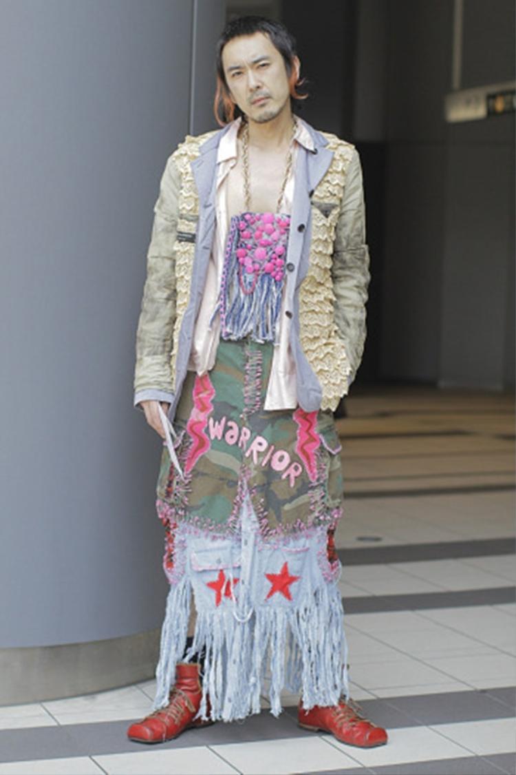 """""""Quao"""" chính là từ đầu tiên khi tôi chiêm ngưỡng bộ outfit này, thời trang thật không có một giới hạn nào"""