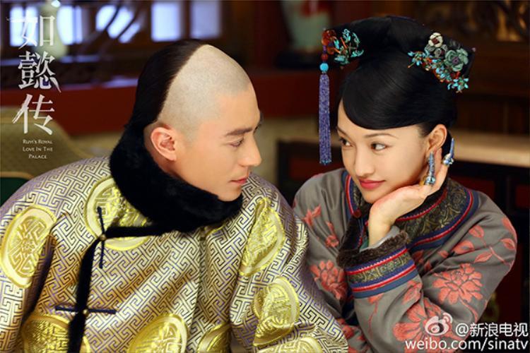 Hoắc Kiến Hoa kết đôi cùng Châu Tấn trong Hậu cung Như Ý truyện.