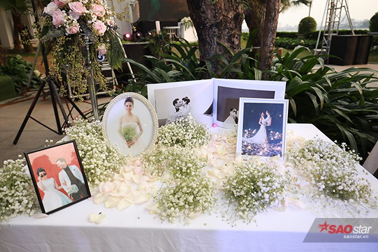 Không gian tiệc cưới của MC Thành Trung.