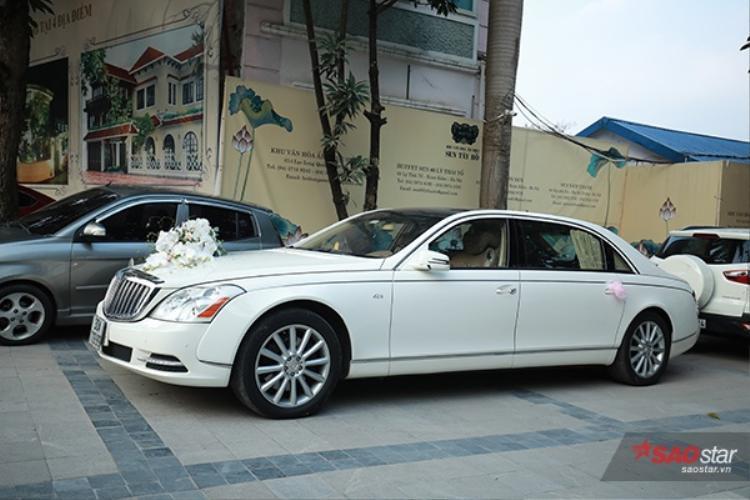 Chiếc xe này có trị giá gần 21 tỷ đồng.