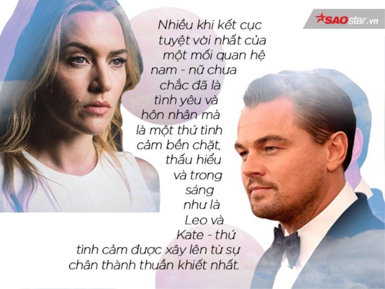 Leonardo DiCaprio  Kate Winslet: mối quan hệ vượt lên trên cả tình yêu