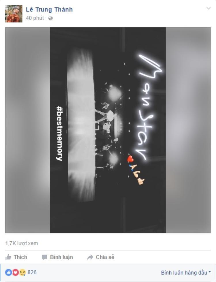Hậu lùm xùm, ai mà ngờ ERIK lại chia sẻ và hát theo MV của MONSTAR thế này!