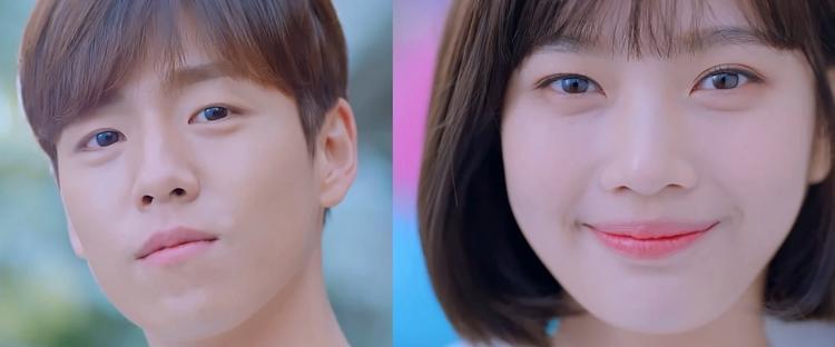 So Rim và trong Han Gyu The Liar And His Lover bản Hàn Quốc