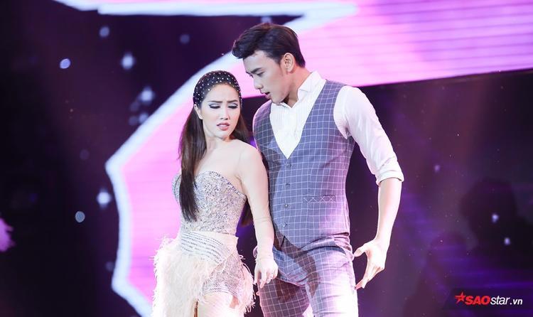 Trai đẹp Thuận Nguyễn cũng đến để hỗ trợ trong phần thi này.