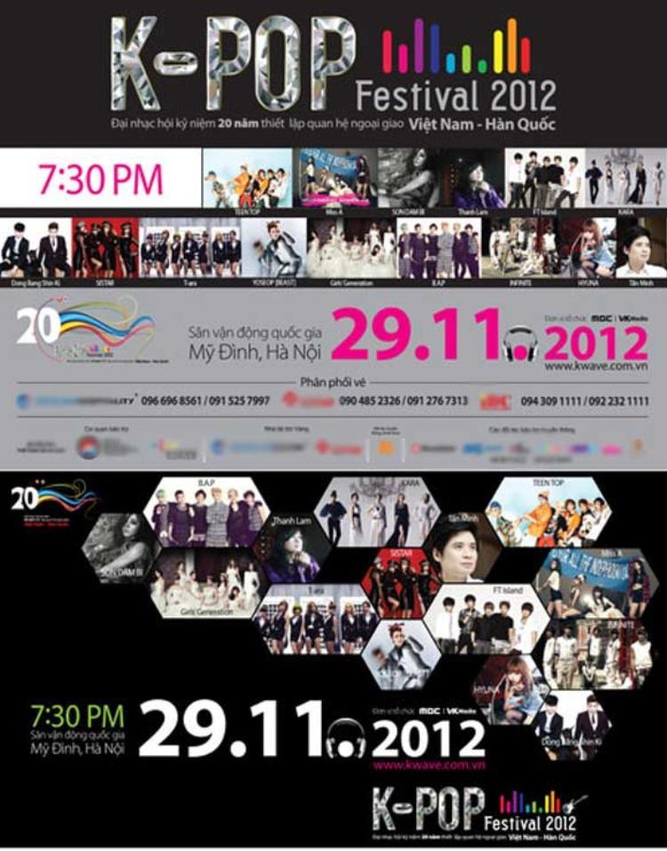 Chương trình kỷ niệm 20 năm quan hệ Việt - Hàn được cho là đại nhạc hội lớn và tầm cỡ nhất cho tới thời điểm này.