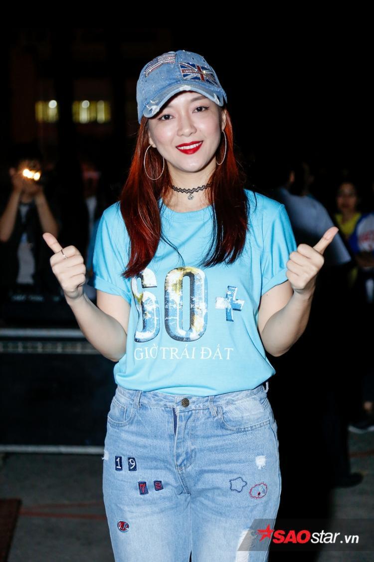 Ngoài ra sự kiện còn có sự góp mặt của Đinh Hương.
