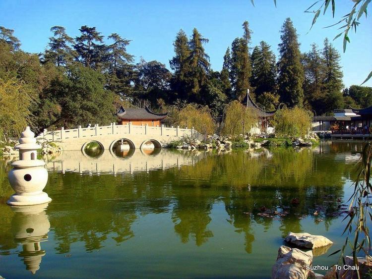 Thành cổ Tô Châu - một trong những địa điểm quay phim.
