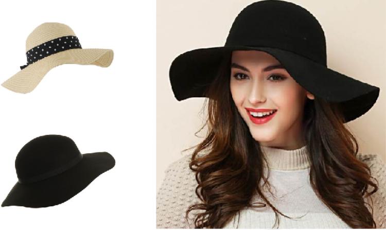 Mũ floppy là kiểu mũ có vành rộng, mềm, chủ yếu làm từ chất liệu cói.