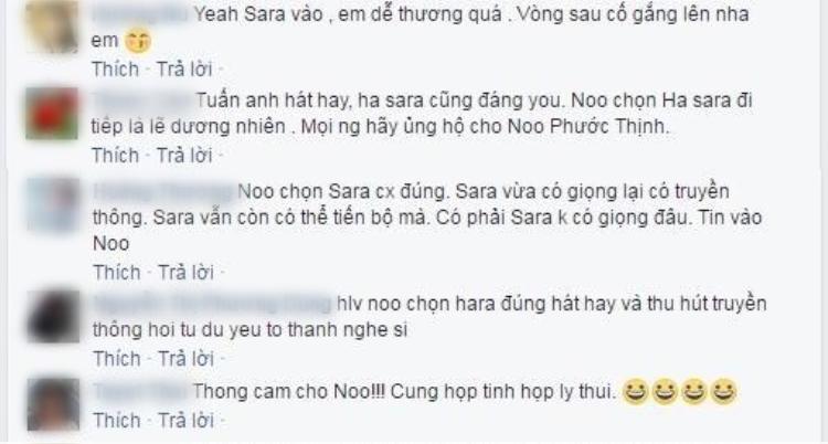 … không ít người cũng ủng hộ quyết định của HLV Noo Phước Thịnh.