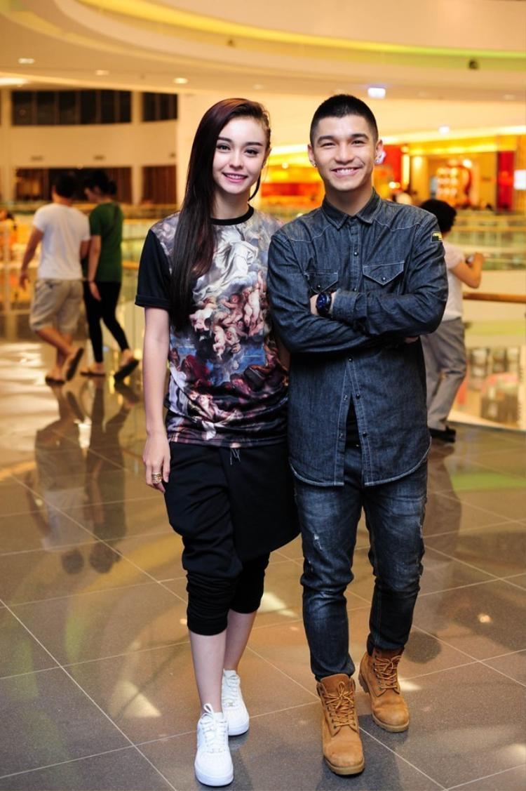 MLee và Cường Seven từng là cặp đôi đẹp của showbiz Việt.
