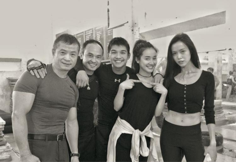 Tháng 11/2016, Cường Seven và Vũ Ngọc Anh cùng nhau tập luyện chuẩn bị cho dự án phim Lôi báo của đạo diễn Victor Vũ. Trong phim có sự tham gia của Nhã Phương.
