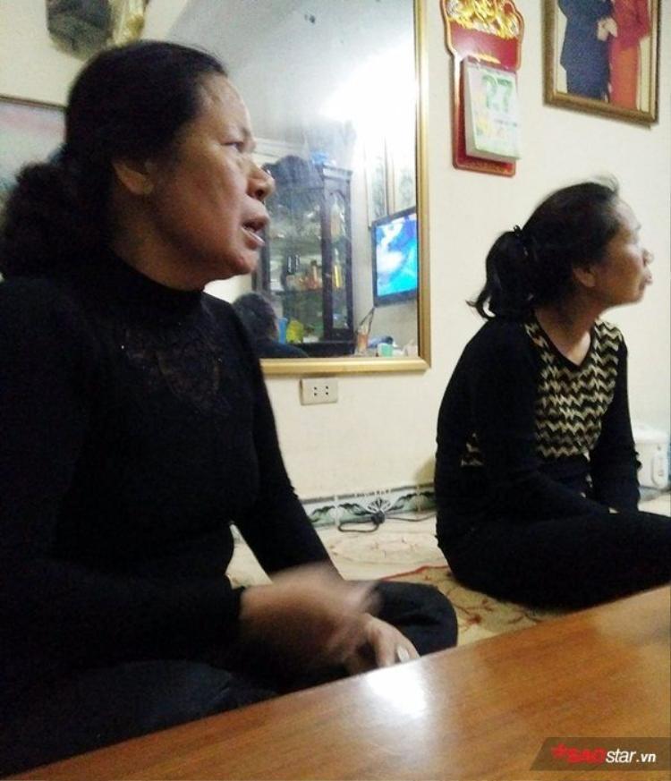 Bà Lan cho biết gia đình không có ý kiến về kết quả phiên sơ thẩm.