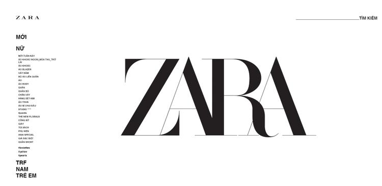 """Zara đang gấp rút hoàn thiện trang web để chào đón các """"tay nghiện shopping"""" trong thời gian tới."""