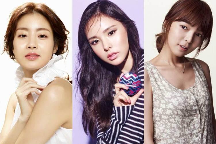 Kang Sora, Min Hyo Rin, Park Jin Joo là ba người đẹp sẽ sánh bước bên cạnh Bi Rain trong phim mới.