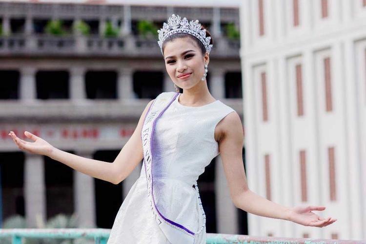 Hiện Nguyễn Thị Thành đã lên đường sang Ai Cập để dự thi Miss Eco International 2017.