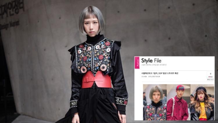 Một trang báo Hàn cũng bình chọn cho giọng ca Gọi tên em lọt top mặc đẹp trong ngày.