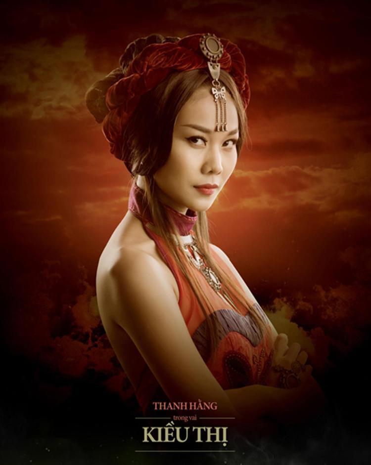 Kiều Thị - vai diễn để đời của Thanh Hằng.