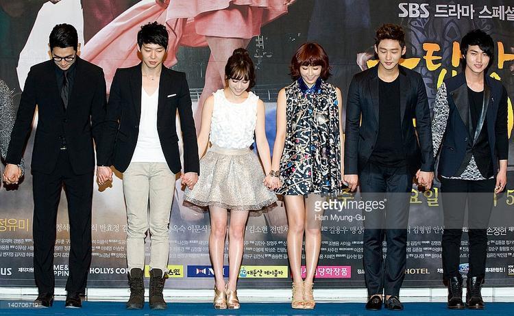 Han Ji Min lọt thỏm so với dàn diễn viên