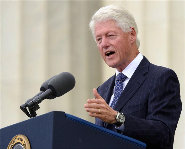 Cựu tổng thống Mỹ Bill Clinton.