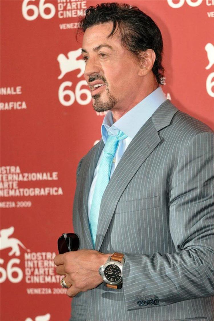 Sylvester Stallone.