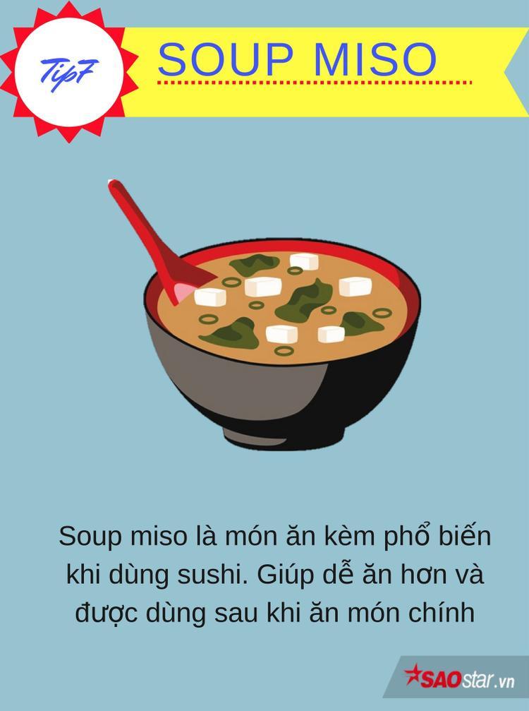 Những mẹo giúp bạn trở thành bậc thầy ăn sushi đúng chuẩn