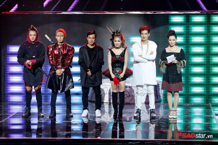 Sự gai góc trong âm nhạc của Addy Trần hoàn toàn phù hợp với cá tính và sự sáng tạo trong các màn trình diễn của Tronie - MiA.
