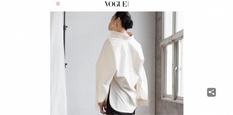 Thiết kế của LGK hiện diện trên tạp chí thời trang nổi tiếng tại Trung Quốc.