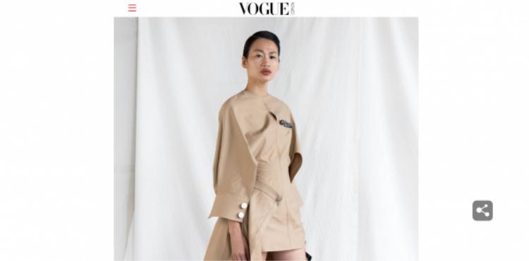 Làng mốt Việt lại thêm tin vui: Bộ sưu tập của NTK Lâm Gia Khang chễm chệ trên Vogue China