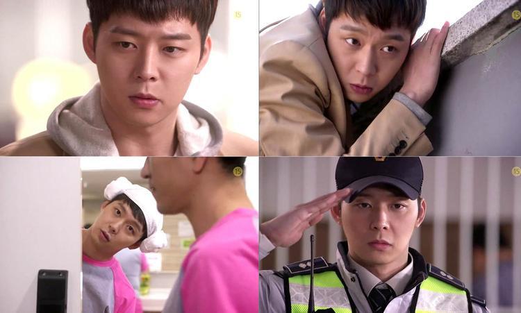 Biểu cảm ấn tượng của Park Yoochun trong The Girl Who Sees Smells - bộ phim cuối cùng của anh trước khi nhập ngũ.