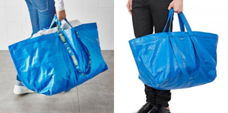 Lại là túi nylong và dáng oversized quá khổ ?