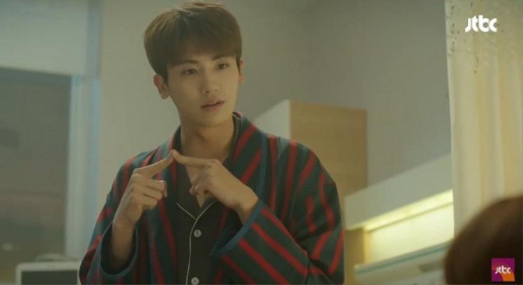 Ngoại hình điển trai của An Min Hyuk dù ở biểu cảm nào