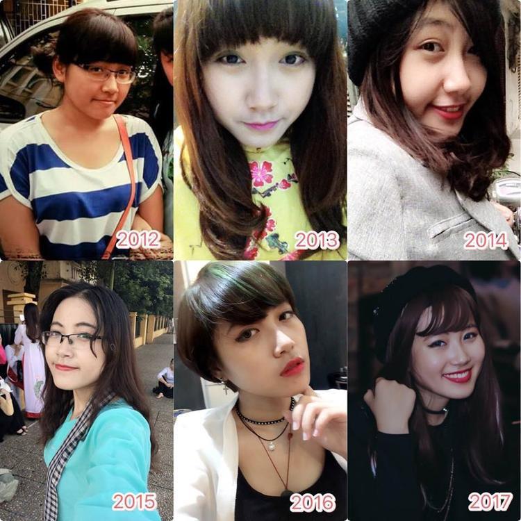 Đào Tâm Phương (team Thu Minh) thay đổi và ngày càng xinh đẹp.