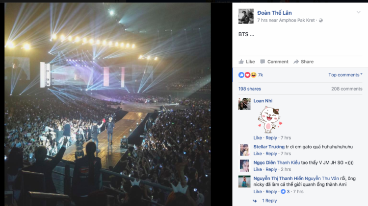 GREY-D cũng vui mừng chia sẻ hình ảnh tạiThe Wings Tour.