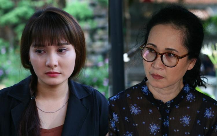 """Cặp mẹ chồng - nàng dâu """"sáng"""" nhất màn ảnh Việt những ngày qua."""