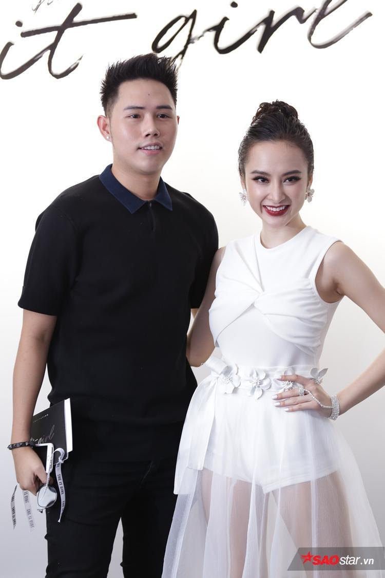 NTK Lâm Gia Khang góp mặt trong show diễn với trang phục đơn giản.