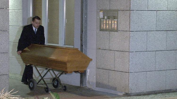 Thi thể nạn nhân được di dời vào đêm 21/7.
