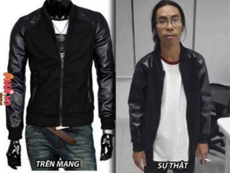 Đặt mua quần jean sành điệu, nam thanh niên câm nín khi cầm hàng trên tay