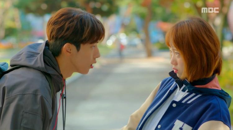 Joon Hyung và Bok Joo là cặp đôi oan gia trước khi trở thành tình nhân.