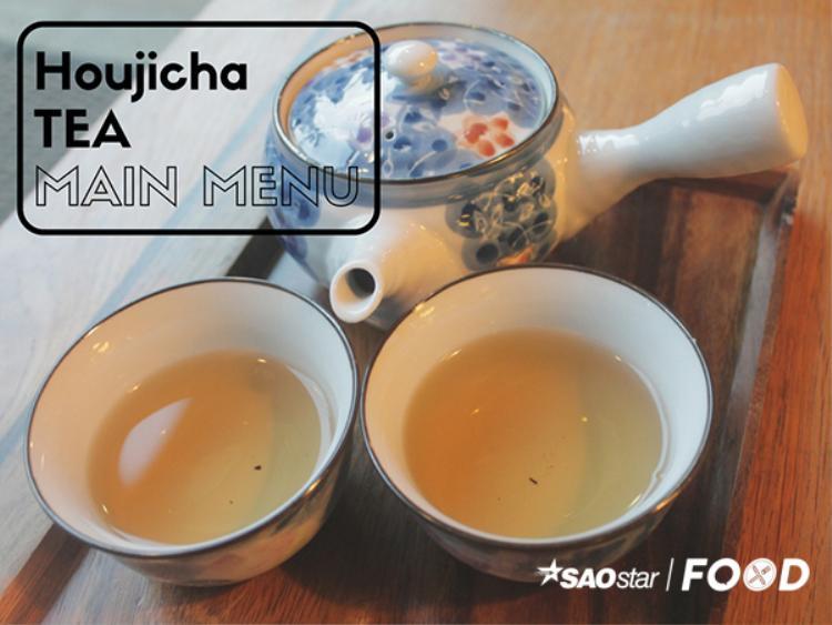 Trà gạo rang Houjicha cực thơm ngon