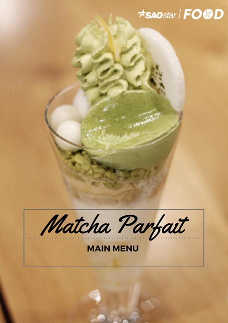 Món Matcha Parfait nổi tiếng của MOF