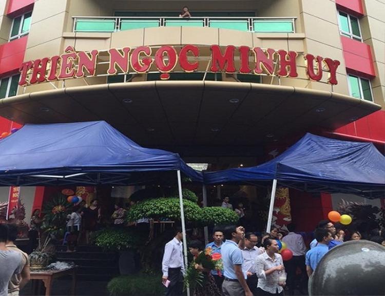 """""""Tổng hành dinh"""" của công ty Thiên Ngọc Minh Uy tại Dịch Vọng Hậu, Cầu Giấy, Hà Nội."""