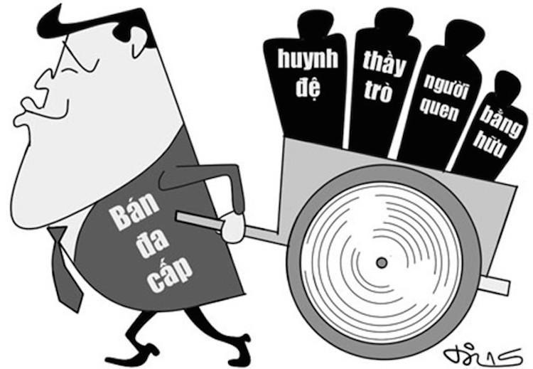Phương thức hoạt động của công ty Thiên Ngọc Minh Uy từng khiến nhiều người lên án, gây tranh cãi một thời gian dài.