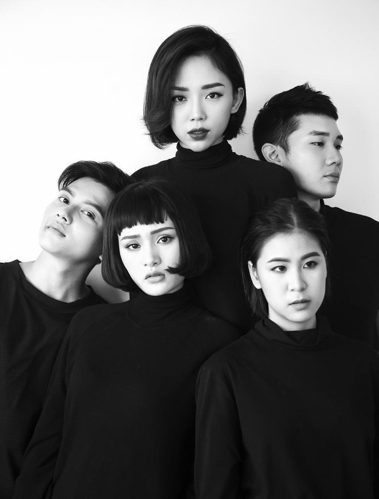 Team Tóc Tiên bí ẩn, lạnh lùng trong bộ ảnh The Originals trước vòng Loại trực tiếp